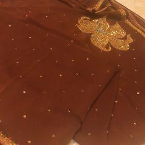 Partywear saree